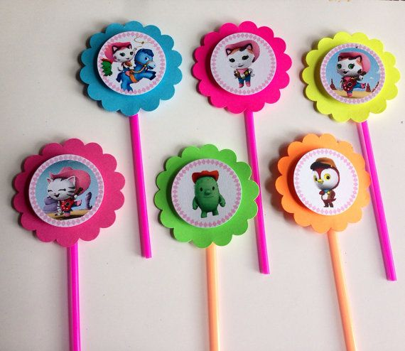 Sheriff Callie's Wild West from Disney Junior  cupcake toppers - Set of 12 on Etsy, $6.99