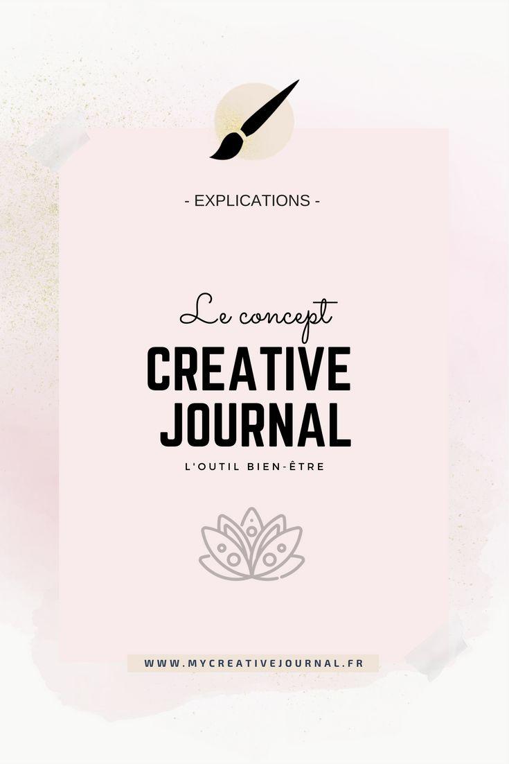 concept du creative journal outil bien-être