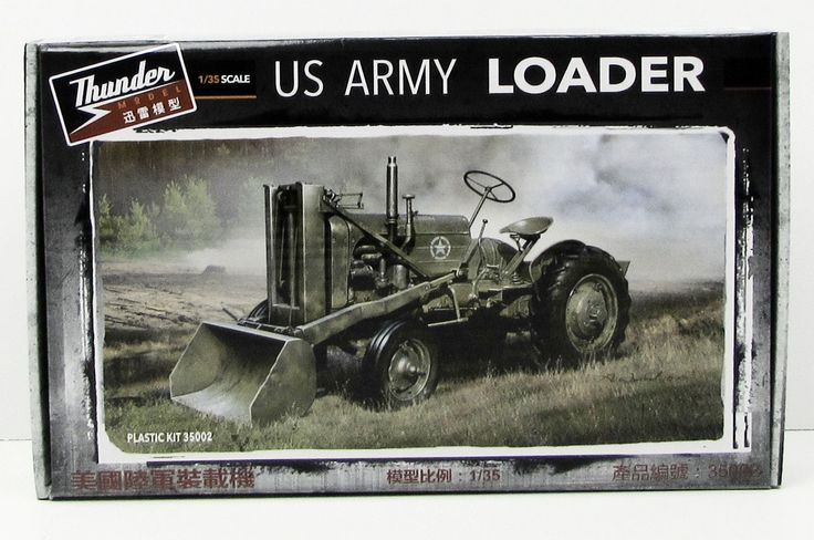 Thunder Models US Army Loader 1/35 35002 New Military Plastic Model Kit