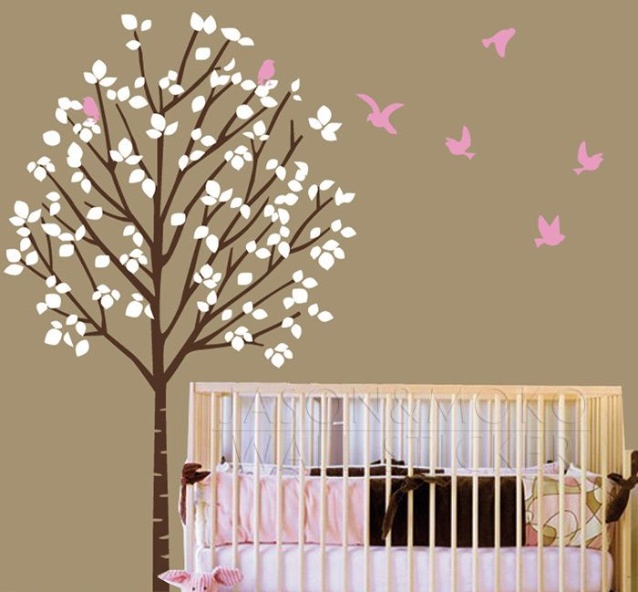 26 best chambre bebe images on Pinterest Wall decals, Nurseries