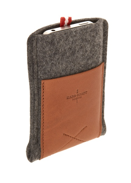 Hard Graft iPhone wallet case via ASOS