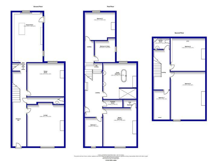 english terraced house floor plan - Google Search