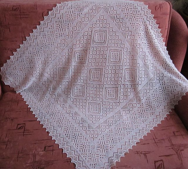 Ravelry: Orenburg harmony /English($)version pattern by Svetlana Loginova