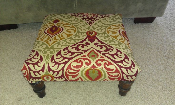 discount fashion jewelry Thrifty Treasures  How to make a foot stool