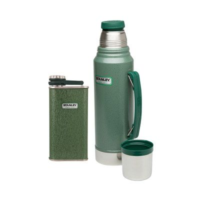 Stanley Classic Vacuum Bottle and Flask Gift Set