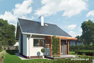 Projekt domu Maluch. Najlepsze projekty domków.