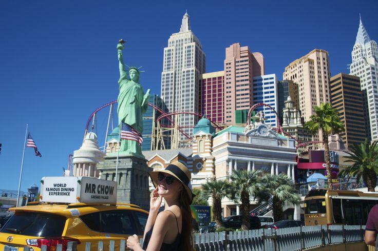 Las Vegas, new york hotel, usa, roadtrip, travelblog, travelblogger, instagram: @annsofieph
