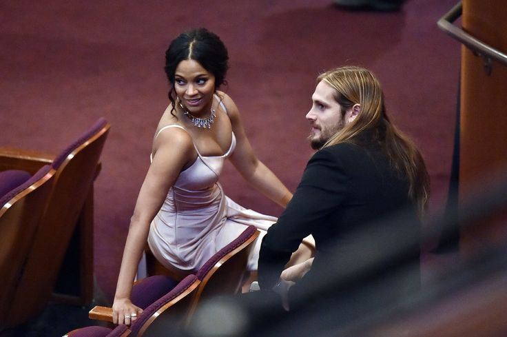 Zoe Saldana and Her Husband Hung Out Away From the Crowd