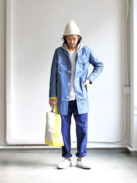maillot N/C chambray work coat