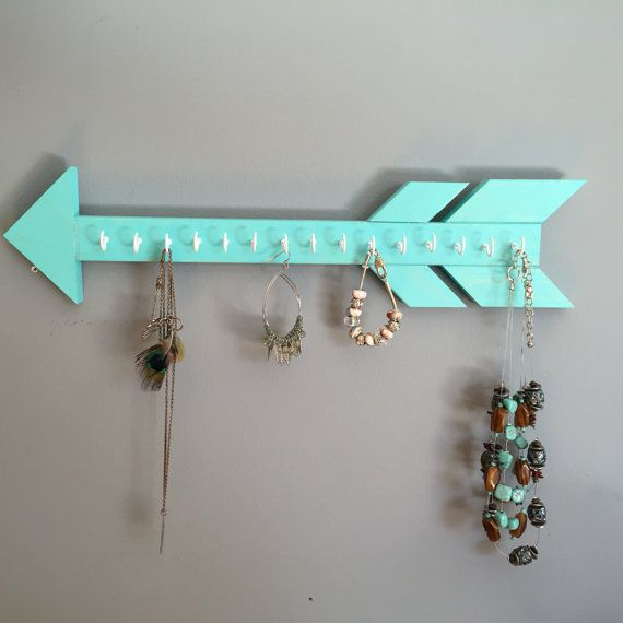 Arrow Jewelry Holder Jewelry Organizer Gift Earring Holder Necklace Display Dorm Gift Idea Teen For Her Bedroom Decor Graduation