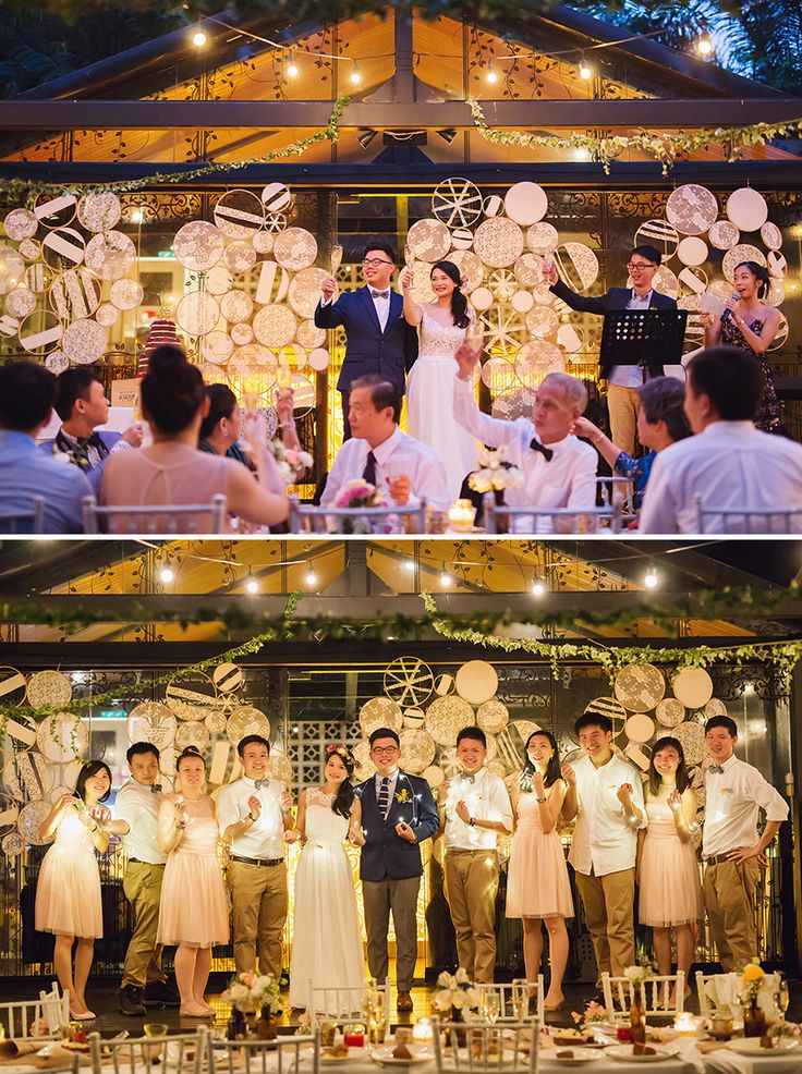 wedding reception photo booth singapore%0A Andrew and Samantha u    s Rustic Chic Singapore Wedding
