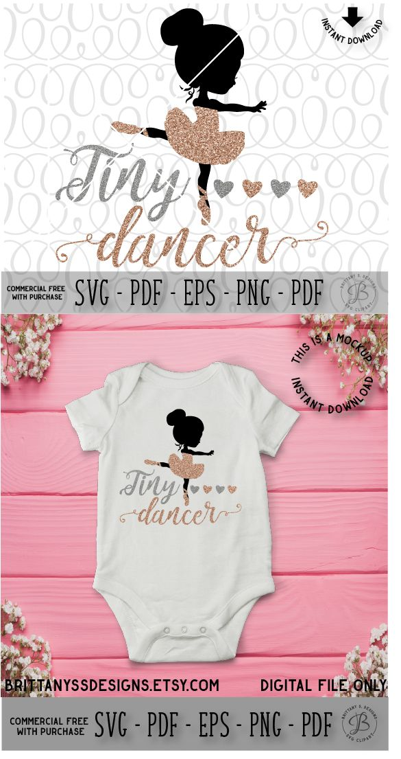 Svg files, Cutting files, Silhouette cameo, Ballet svg, Ballerina SVG