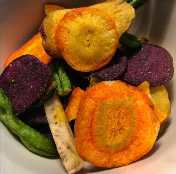Tasty veggie chips recipe