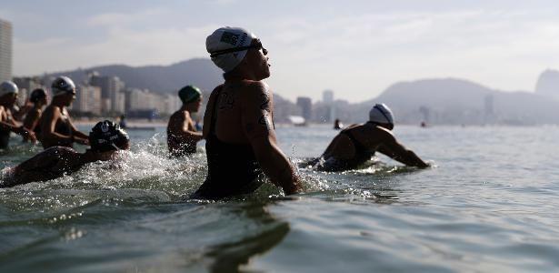 Maratona aquática feminina dos Jogos Olímpicos do Rio de Janeiro