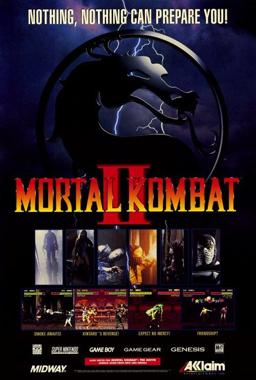 Mortal Kombat 27x40 Movie Poster