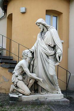 Healing the blind near Jericho - Wikipedia, the free encyclopedia