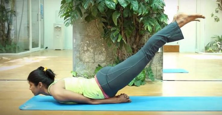 Salabhasana-Step By Step Procedure and Benefits-Locust Pose