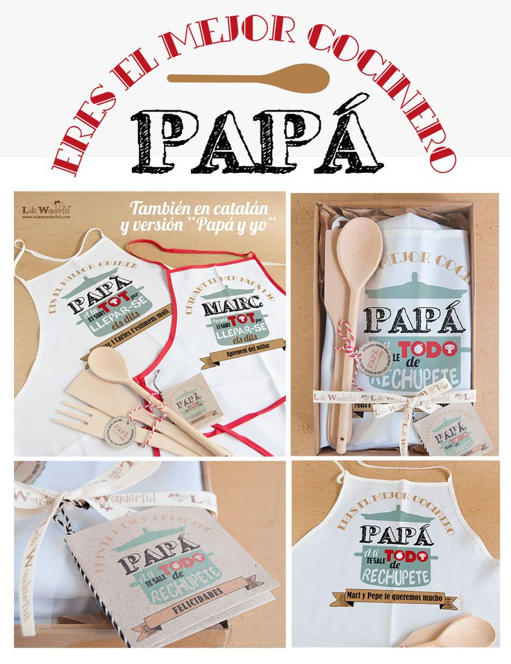Lola Wonderful_Blog: Dia del padre 2015. Regalos personalizados