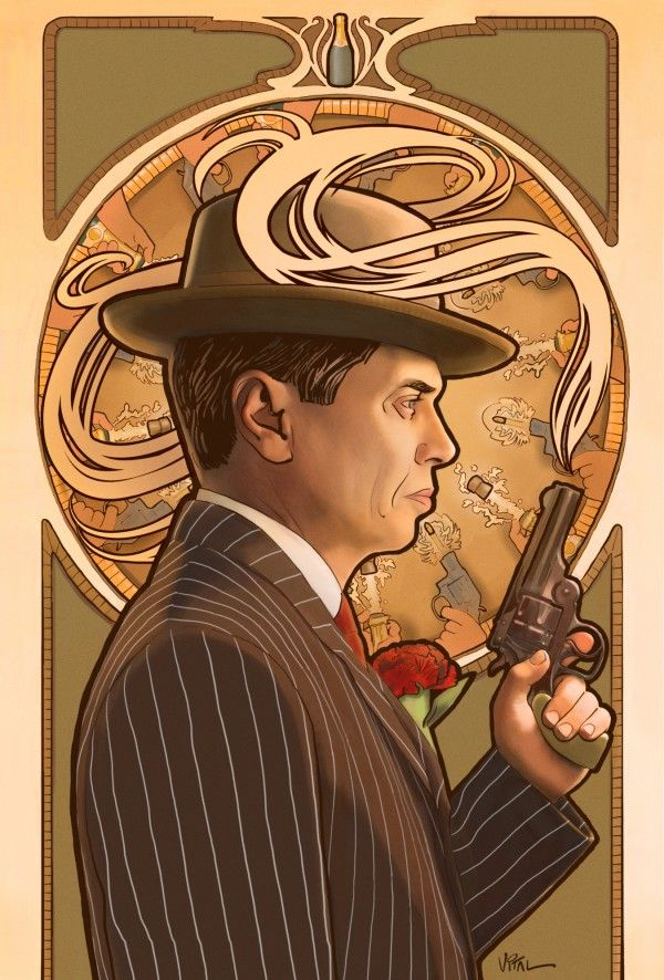 Boardwalk Empire, cool design.