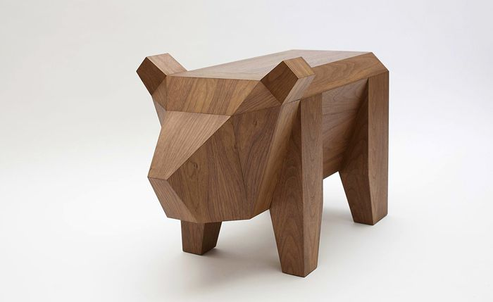 LONDON DESIGN FESTIVAL 2014 - Alexander Kanygin's Bear Table