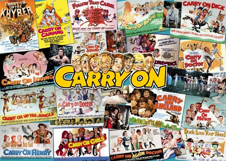 """I loved the """"Carry On"""" films"""