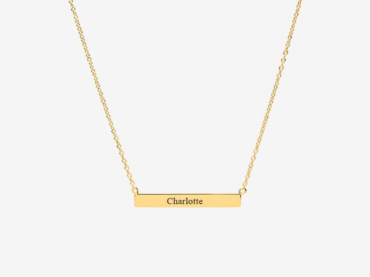 #Schlichte #Gravurkette aus #925 #vergoldet #namenskette #geschenkidee #weihnachtsgeschenk #geschenkideen #goldkette #gravurschmuck #halskette #gravur #schmuckgravur