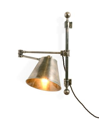 The Reading Wall Light with Metal Shade and Swivel