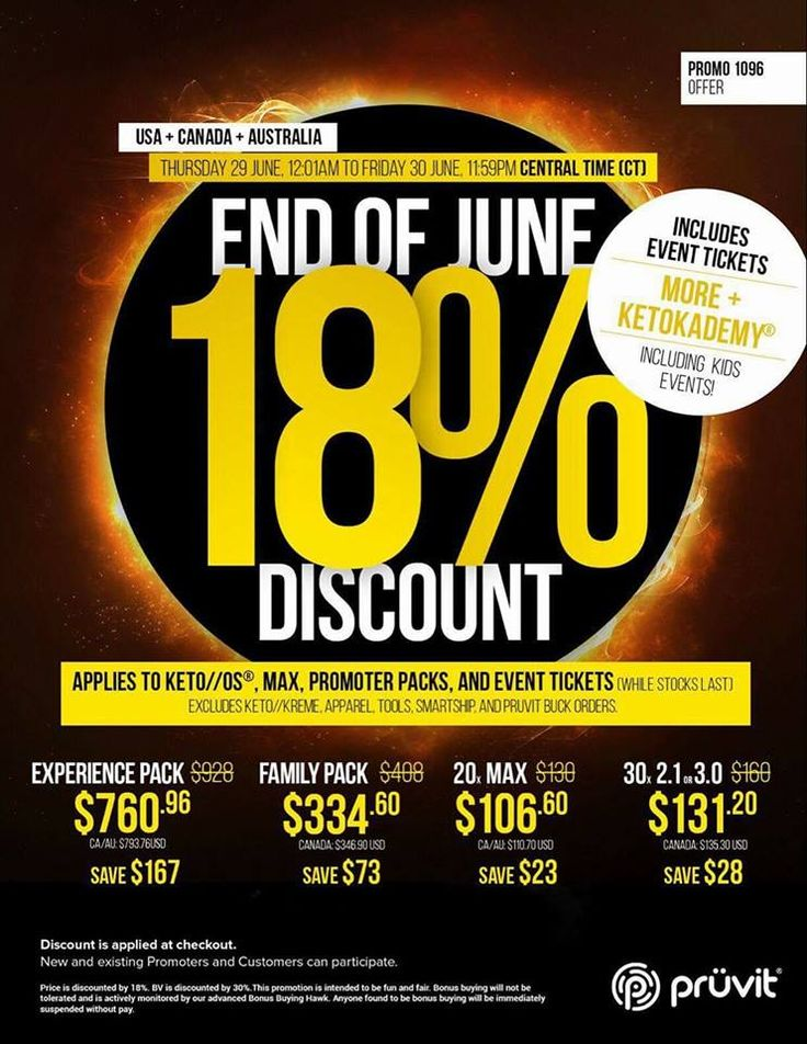 Keto End of June 18% Off Sale http://ift.tt/2t4sahy  Its almost the end of June and were having a sale to celebrate! Get your keto 18% off while you still can!  Ends June 30 2017 at midnight!  Discount Applied at Checkout! No Coupon Code Needed! Order your Keto OS at 18% off!  QUESTIONS?? LIVE CHAT is at the the bottom of the page!  Order by phone! Call us at 1-855-KETONES(1-855-538-6637) Toll free!  Not sure which version to pick? Check out my article -> Comparing each KETO version!  Keto…
