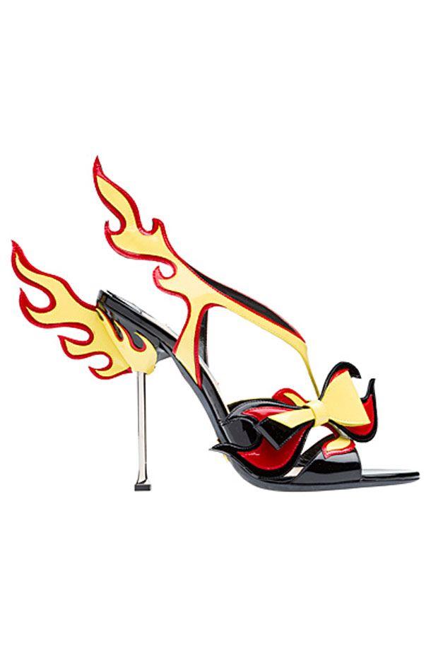 prada shoes funny looking cartoon animals