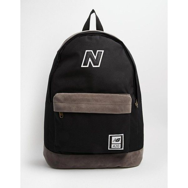 New Balance 420 Backpack ❤ liked on Polyvore featuring bags, backpacks, knapsack bag, new balance, rucksack bag, new balance bag and backpacks bags
