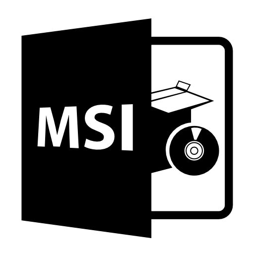 msi format files icon