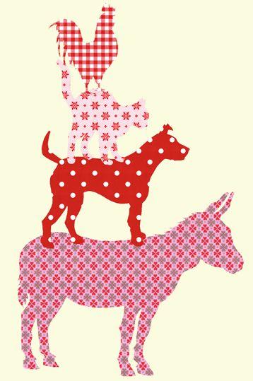 De leukste kinderkamer decoratie met de behangfiguren van @Gail Mounier POPPY