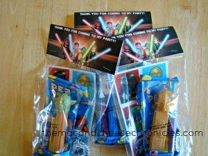 Lego Star Wars Goodie Bags with Pez