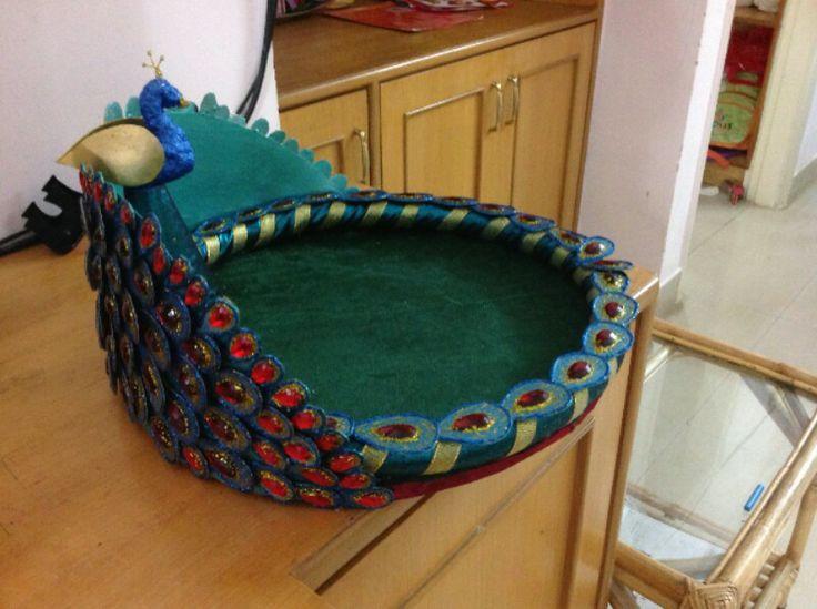 Saree tray-gift packing