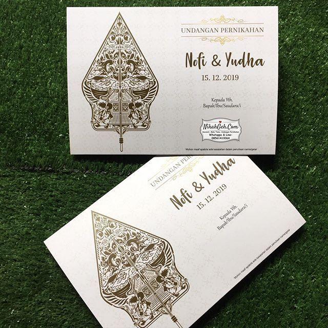 Http Bit Ly 2fs3tbh Wedding Invitation Nofi Yudha Tanya Tanya Atau Info Lebih Lanjut Hubungi Wa 08561410064 L Wedding Invitations Invitations Wedding