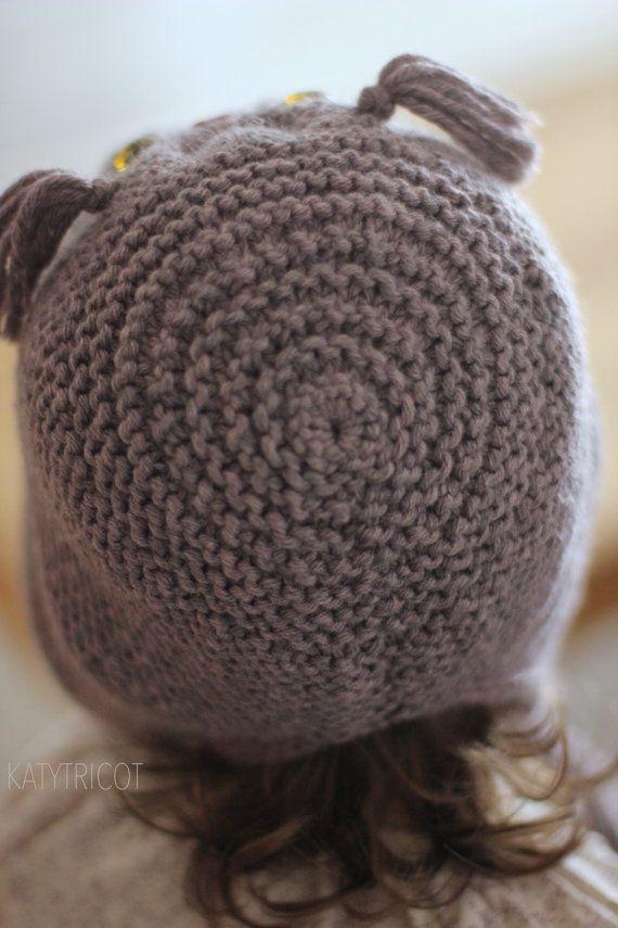 OWL WAYS Hat Knitting Pattern Toddler Child Adult door KatyTricot