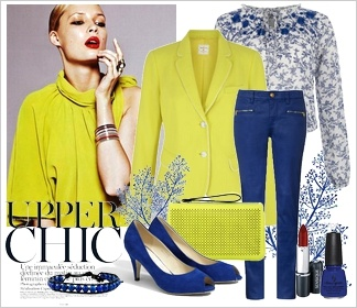 Zestaw ubrań upper chic  Upper chic outfit  Fashion For Spring