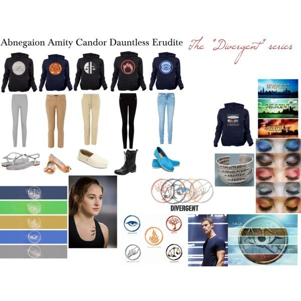 """#Divergent Series Inspired Outfits"" by lexi867 on Polyvore"