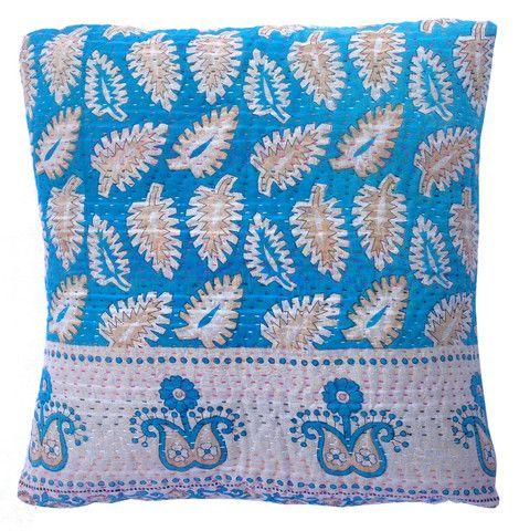 Basha Resort Kantha Cushion