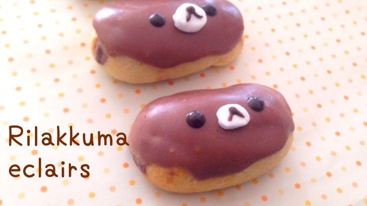 Rilakkuma chocolate eclairs