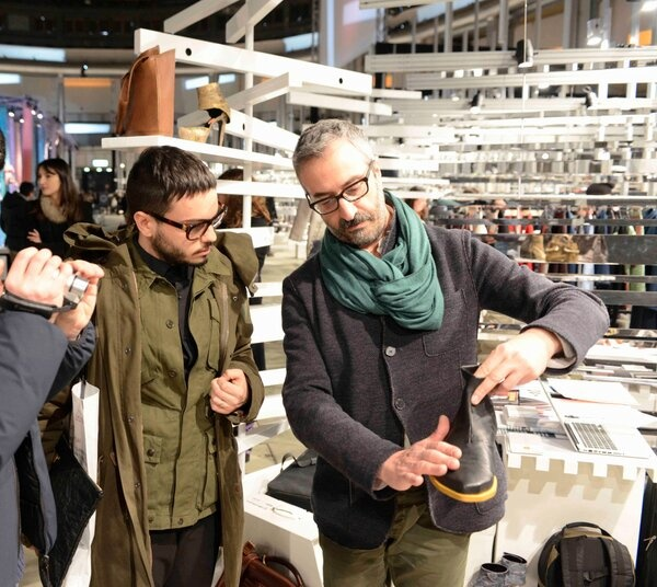 Fashion Illustrated interviews our CEO Mario Innocente at #SUPER fair - Stand F/7 #SuperPitti