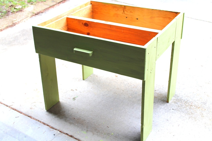 gardening and outdoor stuff Planter Box made from two dresser drawers that