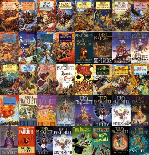 Discworld by Terry Pratchett | The 51 Best Fantasy Series Ever Written