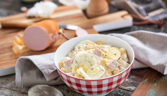 Probiere den bunten Eiersalat von MAGGI und serviere deinen Liebsten eine leckere Abwechslung! Schnell, einfach, köstlich!