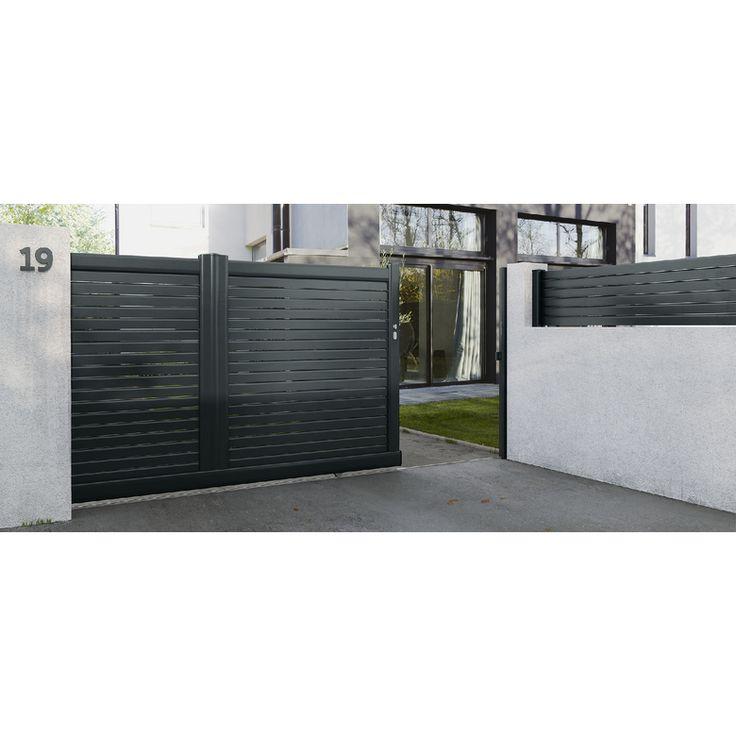 Portail coulissant Aluminium Sicile - Extérieur & jardin