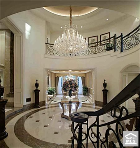 A Grand Foyer My Dream Home Pinterest Entrance