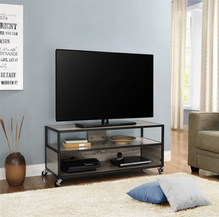 The 25+ best Mobile tv stand ideas on Pinterest | Tv stand ...