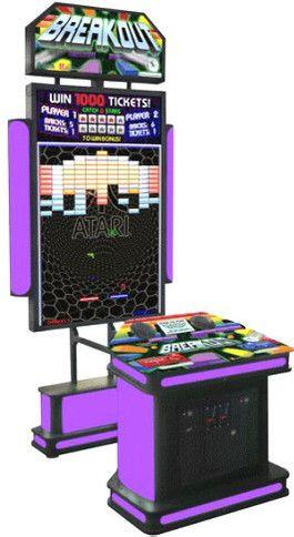 Atari Breakout Ticket Redemption Video Arcade Game From Coastal Amusements