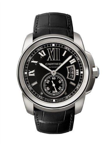 Calibre de Cartier Steel Automatic Watch