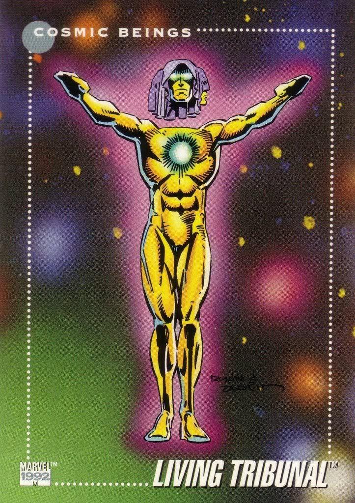 Living Tribunal Marvel Universe Series 3 #153